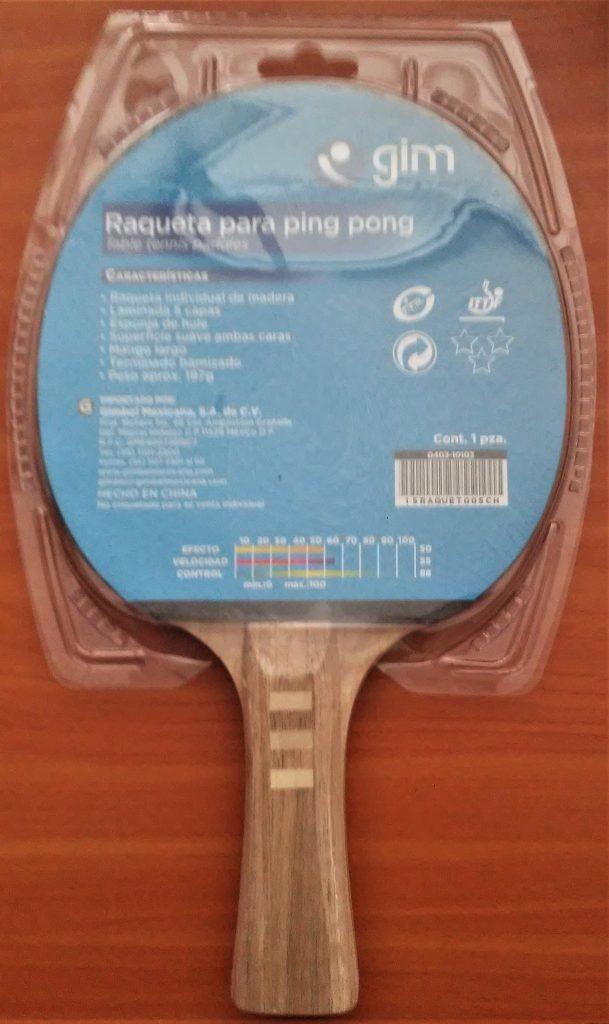 Raqueta de Ping Pong