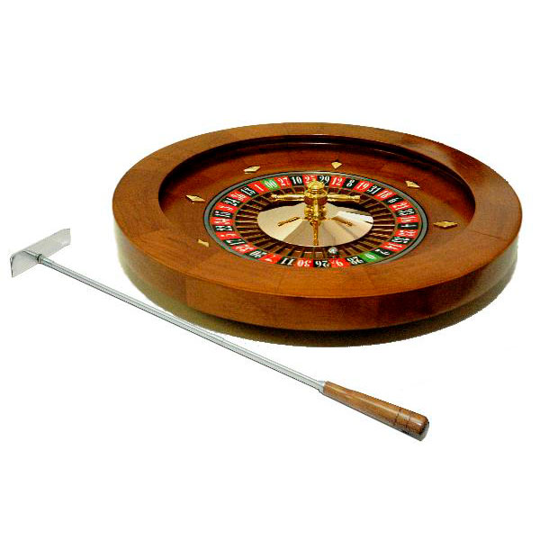 Ruleta de madera 16 pulgadas