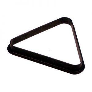 Triángulo de hule y plástico