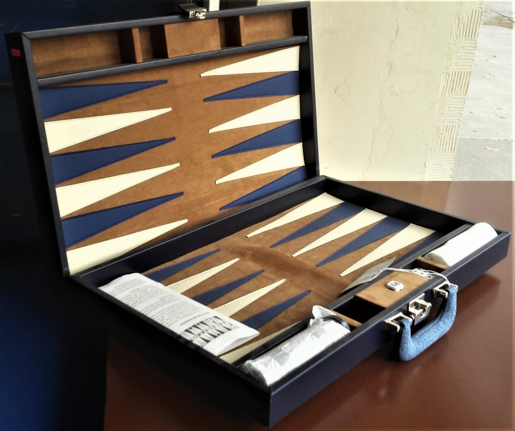 Backgammon Mezclilla