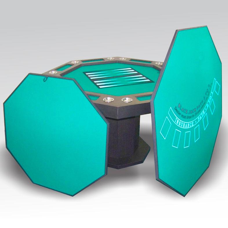 Mesa Multijuegos Octagonal